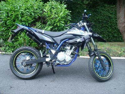 Yamaha WR125 WR 125 X  ***SOLD**SOLD*** Super Motard Petrol Black at Handy Vehicle Sales Bradford