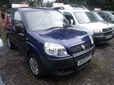 Fiat Doblo Special 1.3 Multijet Active microcamper campervan festival van weekend car Motorhome Diesel Blue at Handy Vehicle Sales Bradford
