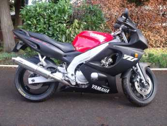 Yamaha Yzf 600r YZF Thundercat Sports Tourer Petrol Red / Black at Handy Vehicle Sales Bradford