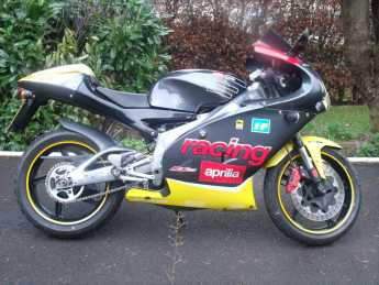 Aprilia RS RS125 Learner legal Sports Bike Petrol Silver at Handy Vehicle Sales Bradford